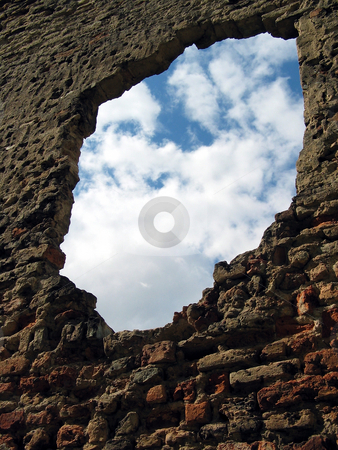 Hole in the Wall stock photo,  by Stanislovas Kairys
