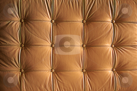 Comfortable Buttoned Leather Pattern stock photo, Comfortable Buttoned Leather Pattern with dramatic lighting. by Andy Dean