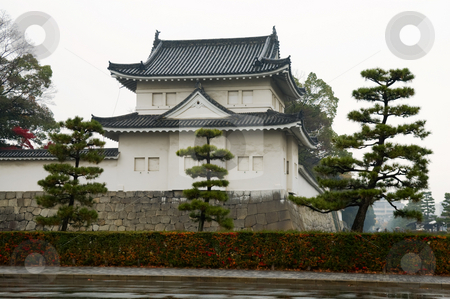 Nijo Castle stock photo, The Japaness castle, Nijo Castle, in Kyoto city by Tito Wong
