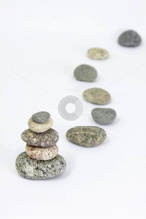 Spa stock photo, Harmony still-life from pebble by ARPAD RADOCZY