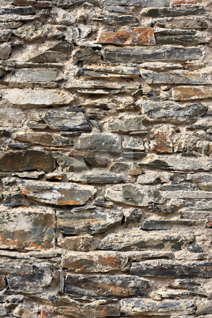 Old wall stock photo, Detail from an old wall by ARPAD RADOCZY