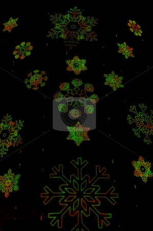 Christmas snowflakes stock photo, Dark Christmas snowflakes texture. by Anibal Trejo