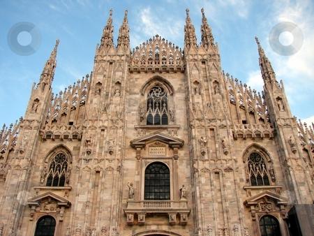 The Duomo, Milan's cathedral stock photo,  by Giancarlo Liguori