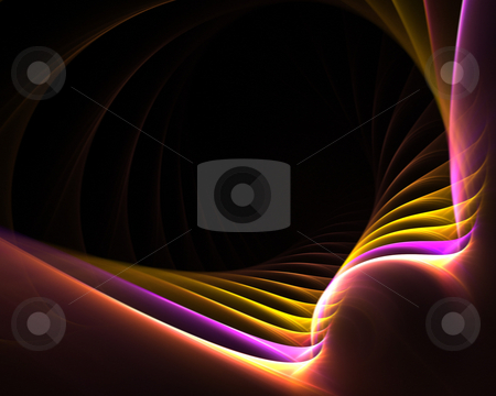 Modern Layout stock photo, A funky fractal design that works great as a background or layout. by Todd Arena