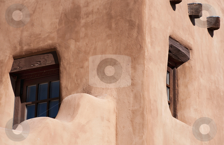 Adobe in new mexico stock photo, Adobe walls in the afternoon sun in new mexico by Gerry Daniel