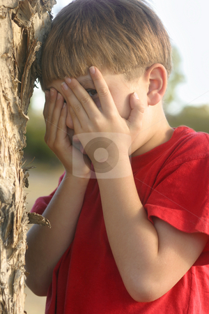 Seek stock photo, Hide and Seek... Don't Peek!!!! by Leah-Anne Thompson