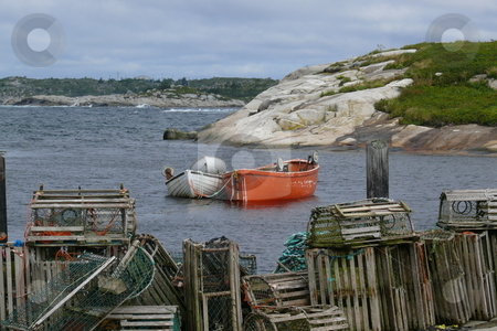 Peggies cove stock photo, Peggies cove, ns, canada by Jakob Brunken