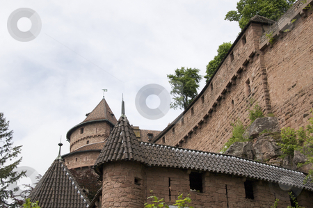 French castle stock photo, Historic castle and museum in the Alsace area of France. by Anders Peter