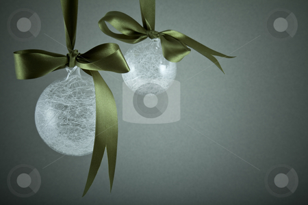 Christmas decorations stock photo, Christmas decorations. Christmas baubles by Portokalis