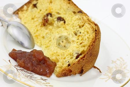 Bundt stock photo, A slice of this delicious bundt be fine by ARPAD RADOCZY