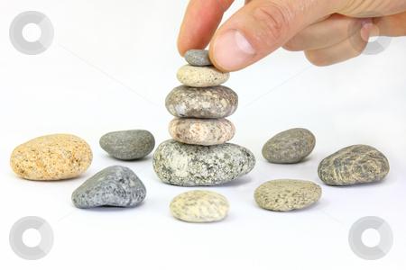Harmony Still-life stock photo, Harmony Still-life with a beautiful stone by ARPAD RADOCZY