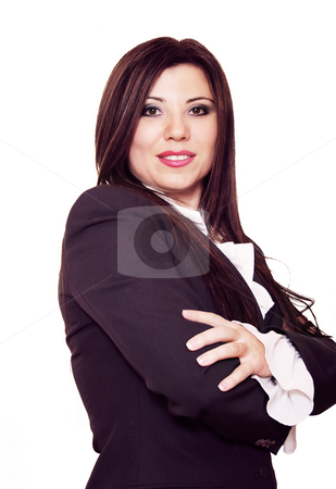 Authoritative stock photo, Confident and assured business woman by Leah-Anne Thompson
