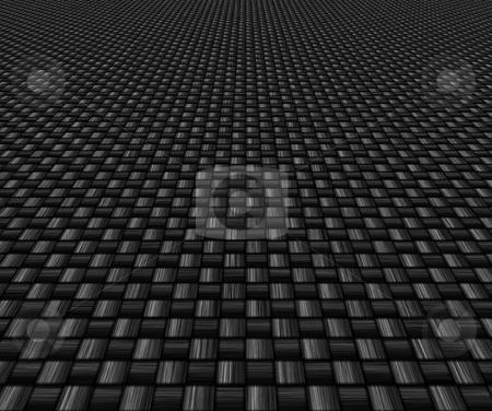 Carbon fibre background stock photo, Great image of a woven carbon fibre background by Phil Morley