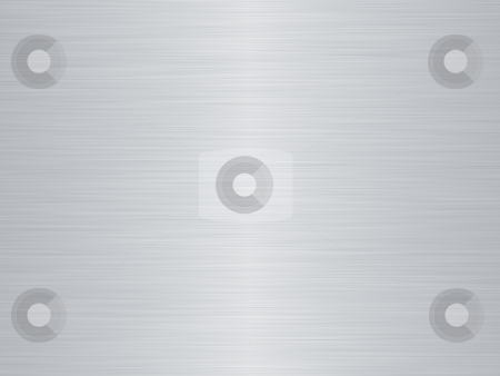 Brushed metal stock photo, A very large sheet of rendered brushed steel or metal by Phil Morley