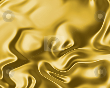 Flowing silk stock photo, Image of luxurious flowing silk or satin fabric in gold by Phil Morley