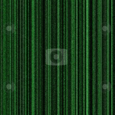 Matrix Green stock photo, Matrix green background with neon green columns. by Henrik Lehnerer