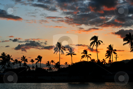 Hawaii Sunset stock photo,  by Stephen Proctor