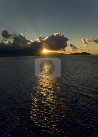Hawaii Sunrise stock photo,  by Stephen Proctor