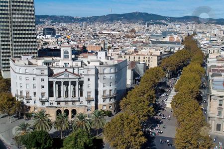 Plaza in Rambla del Mar, Barcelona, Catalonia, Spain, Europe stock photo, Plaza in Rambla del Mar, Barcelona, Catalonia, Spain, Europe. Horizontally framed shot. by Erwin Johann Wodicka