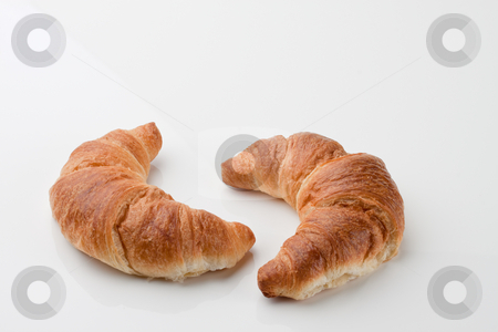 Croissants stock photo, Croissants. Horizontally framed shot. by Erwin Johann Wodicka