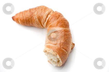 Croissant stock photo, Croissant. Horizontally framed shot. by Erwin Johann Wodicka