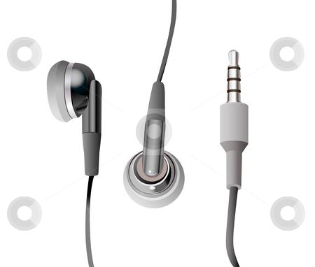 Headphones stock vector clipart, Headphones by Vitaliya Piliuhina