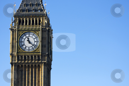Tower of Westminster stock photo, Tower of Westminster or