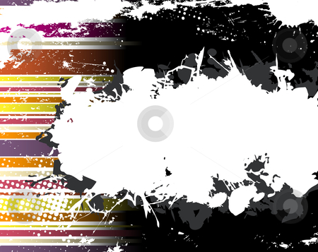 Abstract Grunge Stripe Background stock vector clipart, Abstract Grunge Stripe Background in several colors. Vector Image. by gubh83