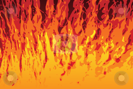 Flames Background stock vector clipart, Abstract Flames Texture Background. Editable Vector Image by AUGUSTO CABRAL