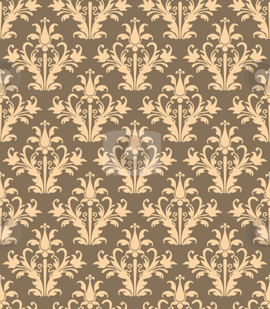 Texture_Ornament_6 stock vector clipart, Abstract Texture Ornament - Seamless Background by Zanna Vilkova
