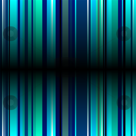 Blue stripe fold stock vector clipart, Background image with shades of blue and central shadow by Michael Travers