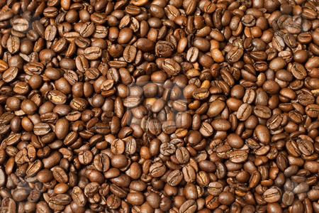 Coffee Wallpaper stock photo, Coffee beans as an background by Markus Kromberg
