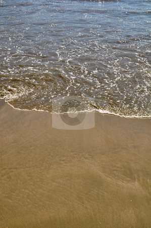 Beach Background stock photo, Beach Background with space for text by Brandon Bourdages