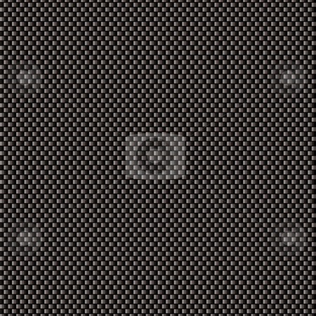Carbon weave gradient stock vector clipart, Black carbon weave background with seamless tile background by Michael Travers