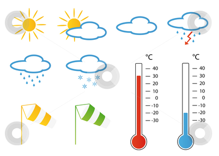 weather symbols wind. Symbols concerning wind and