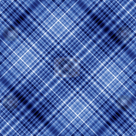 Blue colors pixels diagonal mosaic background. stock photo, Blue colors pixels diagonal mosaic background. by Stephen Rees