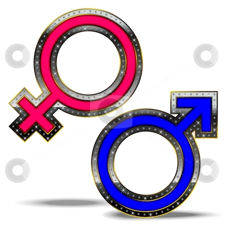 Male Female Symbols Clip Art