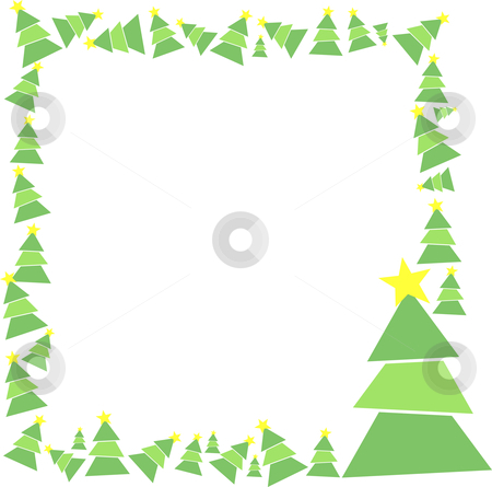 Merry Christmas Frame Stock Vector Clipart By Tomas Marek Foto Cabe ...