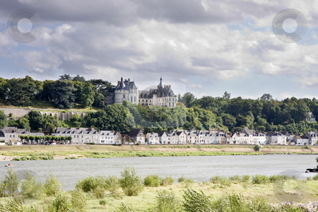 Chaumont sur Loire stock photo, Chaumont sur Loire village and castle, Loir-et-Cher, France by Rafael Laguillo