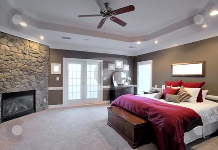Large Bedroom Interior. Large Bedroom Interior stock photo