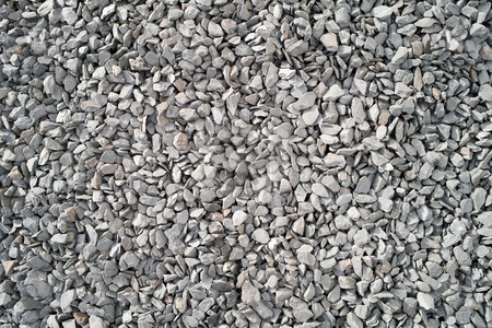 Lots of large gray stone chippings. stock photo, Lots of large gray stone chippings. by Stephen Rees