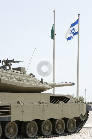 Merkava Mk 3 Baz Main Battle Tank stock photo, Merkava Mk 3 Baz Main Battle Tank by Dmitry Pistrov