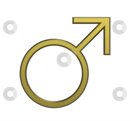 Male Seks Symbol Stock Photo  Male Seks Symbol Render Isolated On