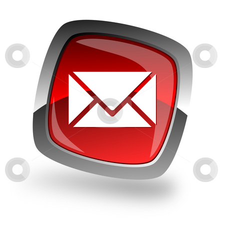 E-mail internet icon stock photo, E-mail internet icon by Tomasz Kaczmarek