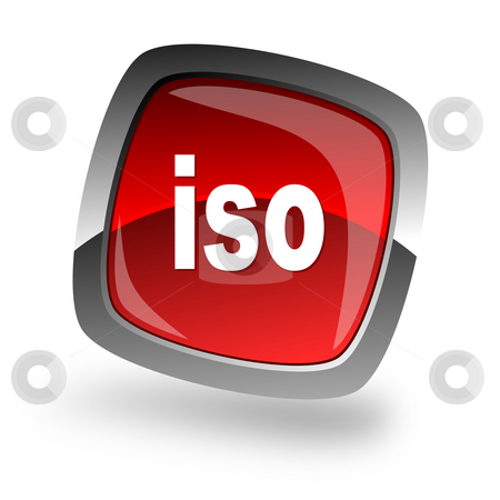 Iso file internet icon stock photo, Iso file internet icon by Tomasz Kaczmarek