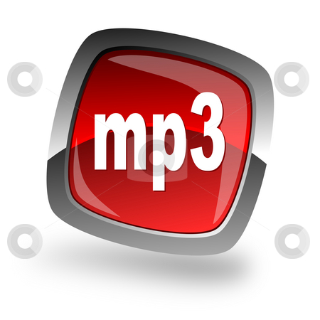 Mp3 file internet icon stock photo, Mp3 file internet icon by Tomasz Kaczmarek