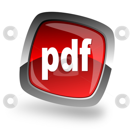 Pdf file internet icon stock photo, Pdf file internet icon by Tomasz Kaczmarek