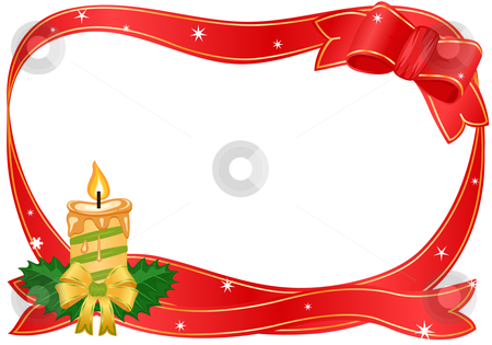 450 x 315 jpeg 121kB, Christmas border with golden candle stock vector ...