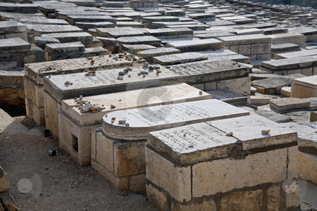 Mount of Olives Jewish Cementery stock photo, Old cementery in Jerusalem - Israel. Holy place for all jews people by Zvonimir Atletic