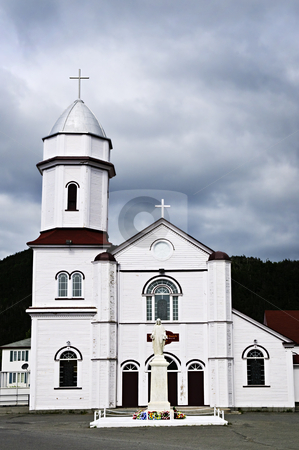 Sacred Heart Church in Placentia stock photo, Sacred Heart Church in Placentia Newfoundland, Canada by Elena Elisseeva